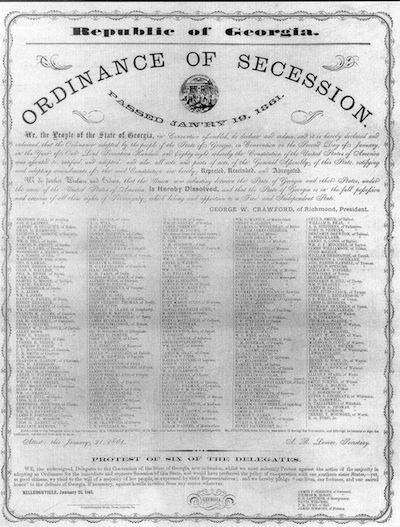 Secession Ordinance